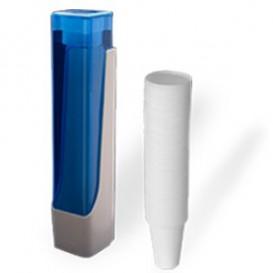 SET Becherspender + 800 Becher 220ml weiß (1 Stück)