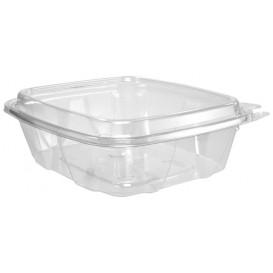 Plastikbehälter PET Unverletzlich Deckel Hoch 710ml (100 Stück)