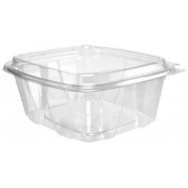Plastikbehälter PET Unverletzlich Deckel Hoch 950ml (100 Stück)