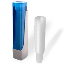 SET Becherspender + 800 Becher 220ml transparent (1 Stück)