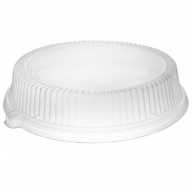 Plastikdeckel transparent für Teller Ø260mm (125 Stück)