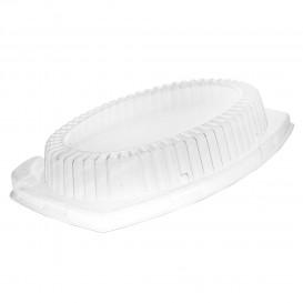Plastikdeckel transparent für Tablett 230x180mm (125 Stück)