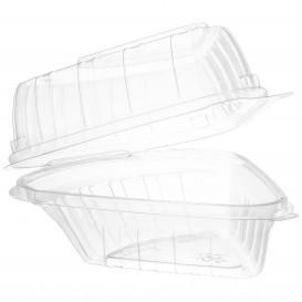 """Plastikschale Klappdeckel OPS """"Clear Seal"""" 169ml (125 Stück)"""
