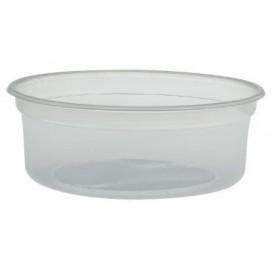 "Behälter aus Plastik PP ""Deli"" 8Oz/266ml Transp. Ø120mm (500 Stück)"