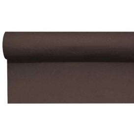 Tischläufer Airlaid braun 0,4x48m Vorgeschnitten (1 Stück)