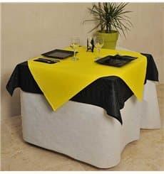 Papiertischdecke Zuschnitt Gelb 1x1 Meter 40g (400 Stück)