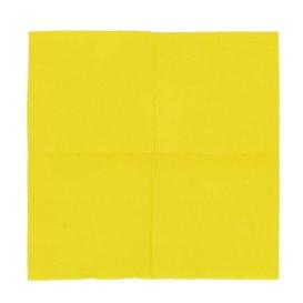"""Papierservietten """"Cocktail"""" gelb 20x20cm (2400 Stück)"""