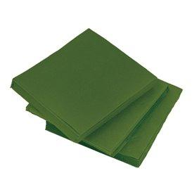 """Papierservietten """"Cocktail"""" grün 20x20cm (2400 Stück)"""