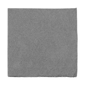 """Papierservietten """"Cocktail"""" grau 20x20cm (2400 Stück)"""