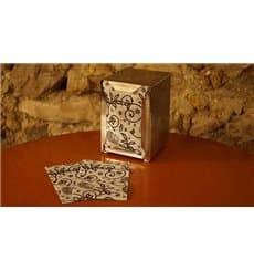 """Spenderservietten Papier Miniservis """"Kaschmir"""" 17x17cm (200 Stück)"""
