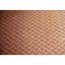 Rolle Papiertischdecke Braun 1x100m 40g (6 Stück)