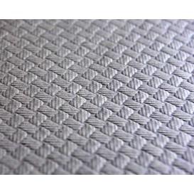 Papiertischdecke Rolle Grau 1x100m 40g (6 Stück)