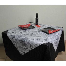 """Papiertischdecke Novotex Polypropylen """"Press"""" 120x120cm (150 Stück)"""