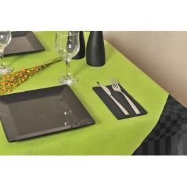 Papiertischdecke Novotex Polypropylen Pistaziengrün 120x120cm (150 Stück)