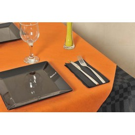 Papiertischdecke Novotex Polypropylen Orange120x120cm (150 Stück)