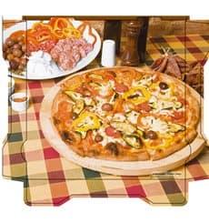 Pizzakartons Al Bassanello Tavola 33x33x4,2cm (100 Stück)