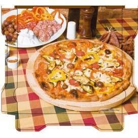 Pizzakartons Al Bassanello Tavola 40x40x4,2cm (100 Stück)