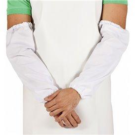 Schutzärmel Polypropylen Plastifizierte 25x44cm weiß (50 Stück)