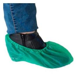 Überschuhe Polyetylen CPE 40My Grün (1000 Stück)