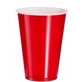 Plastikbecher Rot 10 Oz/300ml (100 Stück)