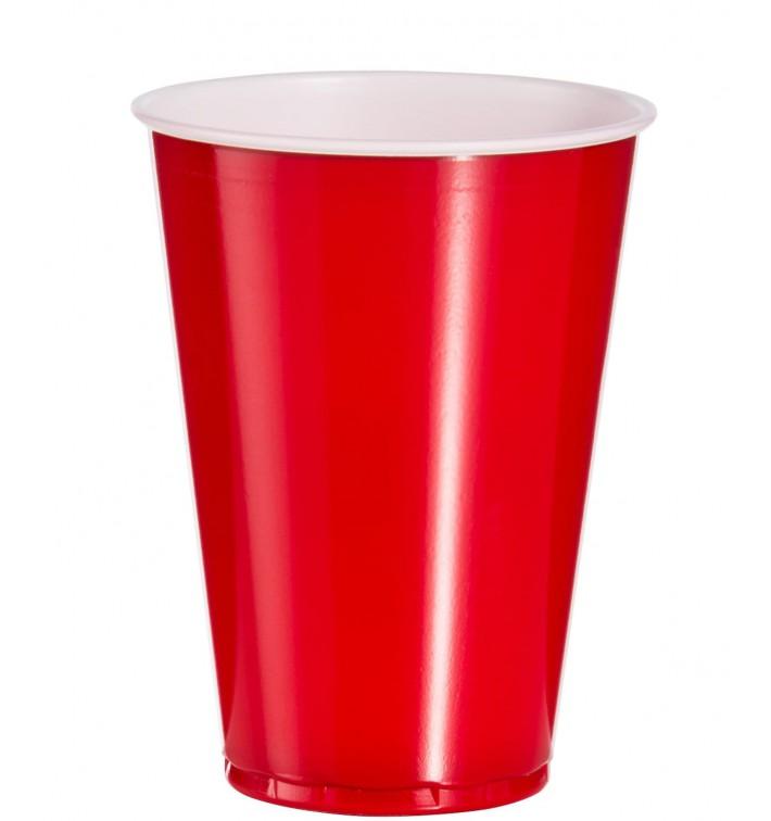 Plastikbecher Rot 10 Oz/300ml (1.000 Stück)