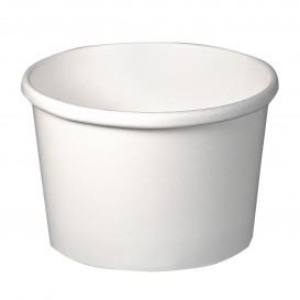 Pappbecher Weiß 8Oz/237ml Ø9,1cm (25 Stück)