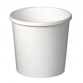 Pappbecher Weiß 12Oz/355ml Ø9,1cm (25 Stück)