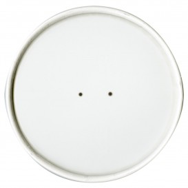Kartondeckel Weiß Ø11,8cm (25 Stück)