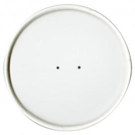 Kartondeckel Weiß Ø11,7cm (500 Stück)