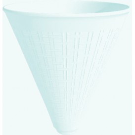 Kegel Styropor für Pommes-frites weiß 355ml (25 Stück)
