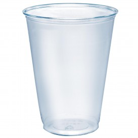 Plastikbecher PET Solo Ultra Clear 10Oz/296 ml Ø7,8cm (50 Stück)