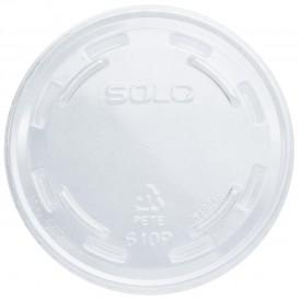 Deckel ohne Loch für Becher PET Solo Ultra Clear 9Oz groß et 10Oz (1000 Stück)