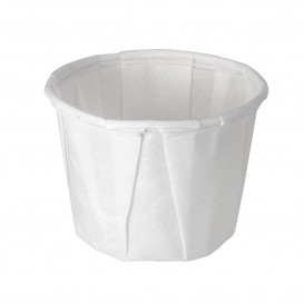 Eisbecher aus Plissiertem Papier 15ml (5000 Stück)