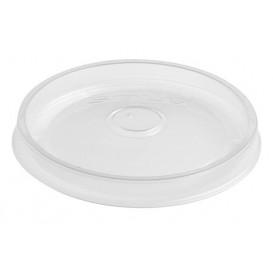 Plastikdeckel Transp. für Suppenbecher 8 und 12 Oz (500 Stück)