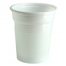 Plastikbecher PS Weiß 100ml Ø5,7cm (4800 Stück)