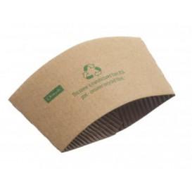 Bechermanschetten aus Pappe 12 und 16 Oz (100 Stück)