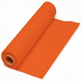 Papiertischdecke Rolle orange 1x100m 40g (6 Stück)