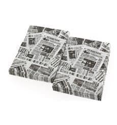 "Spenderservietten Papier Miniservis ""Zeitung"" 17x17cm (6000 Stück)"