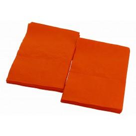 """Spenderservietten Papier """"Miniservis"""" Orange 17x17cm (160 Stück)"""