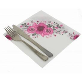 """Papierservietten """"Bouquet"""" 2-lagig 40x40cm (50 Stück)"""