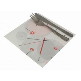 """Papierservietten """"TicTac"""" 2-lagig 40x40cm (600 Stück)"""