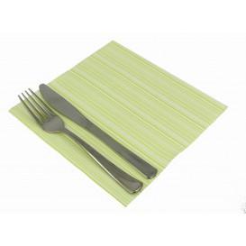 """Papierservietten """"Basic Pistaziengrün"""" 2-lagig 40x40cm (50 Stück)"""