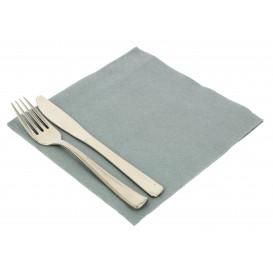 Papierservietten Grau 40x40cm 2-lagig (50 Stück)