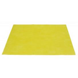 """Tischsets """"Novotex"""" Polyester-Vliesstoff Gelb 30x40cm 50g (500 Stück)"""