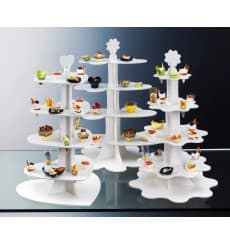"Fingerfood Geschirr Display ""Cloud"" 75cm (5 Stück)"