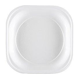 Plastikteller PS Platz Stark Weiß 200x200mm (50 Stück)