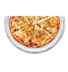 Plastikteller für Pizza weiß 280mm (400 Stück)