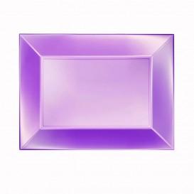 Plastiktablett Violett Nice Pearl PP 280x190mm (120 Stück)