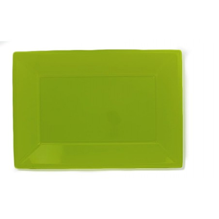 Plastiktablett Pistazie 330x225mm (180 Stück)