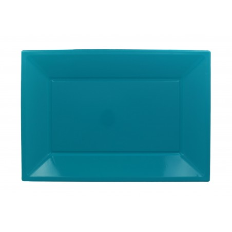 Plastiktablett Türkis 330x225mm (180 Stück)